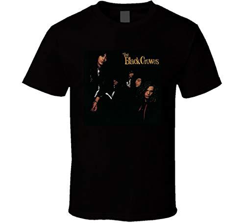 Black Crowes Shake Your Money Maker Rock Music Fan T Shirt Nero Nero M