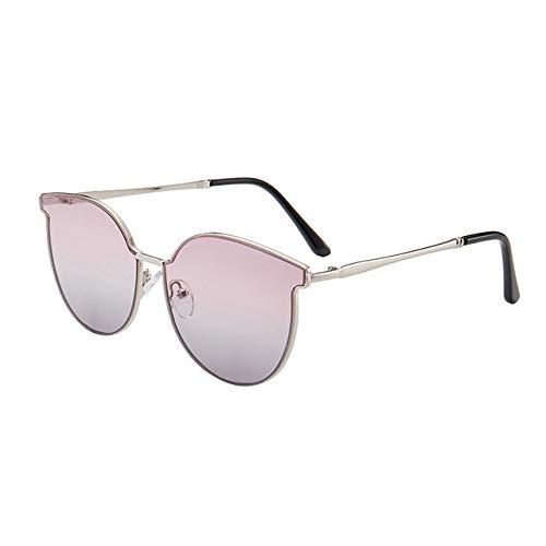 ZYJ Gafas de Sol de Ojo de Gato de aleación para Mujer Gafas graduadas Gafas de Sol Gafas de Sol de conducción de Viaje de Metal Vintage Gafas de Sol para Mujer,C4