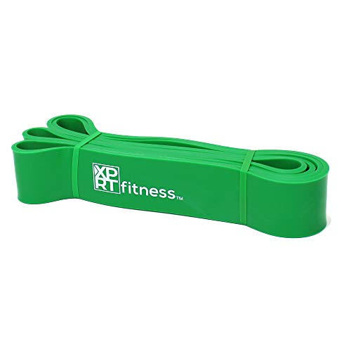 XPRT Fitness Resistance Bands Pull Up Assist Bands Stretching Powerlifting Workout Training -Green (50-125lb)