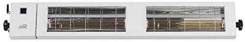 Burda Infrarot Heizstrahler SMART Multi BT IP24 2×1,5kW weiß - 3