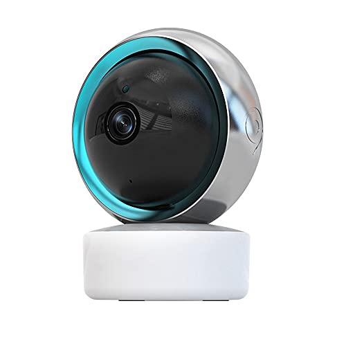 Cámara Interiores Inteligente 1080P inalámbrica WiFi Vigilancia de Seguridad CCTV Baby Monitor Home Assistant (Plug Type : UK Plug, Sensor Size : 1080P Tuya)