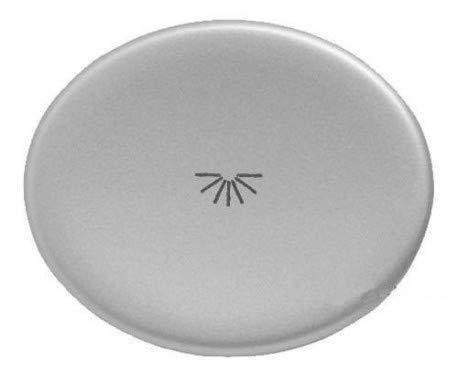 Niessen tacto - Tecla pulsador con simbolo luz tacto plata