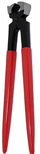 Reitsport Amesbichler AMKA Hufbeschlag Zange mit Nietansatz 30 cm Hufzange Hufpflege Klauenpflege