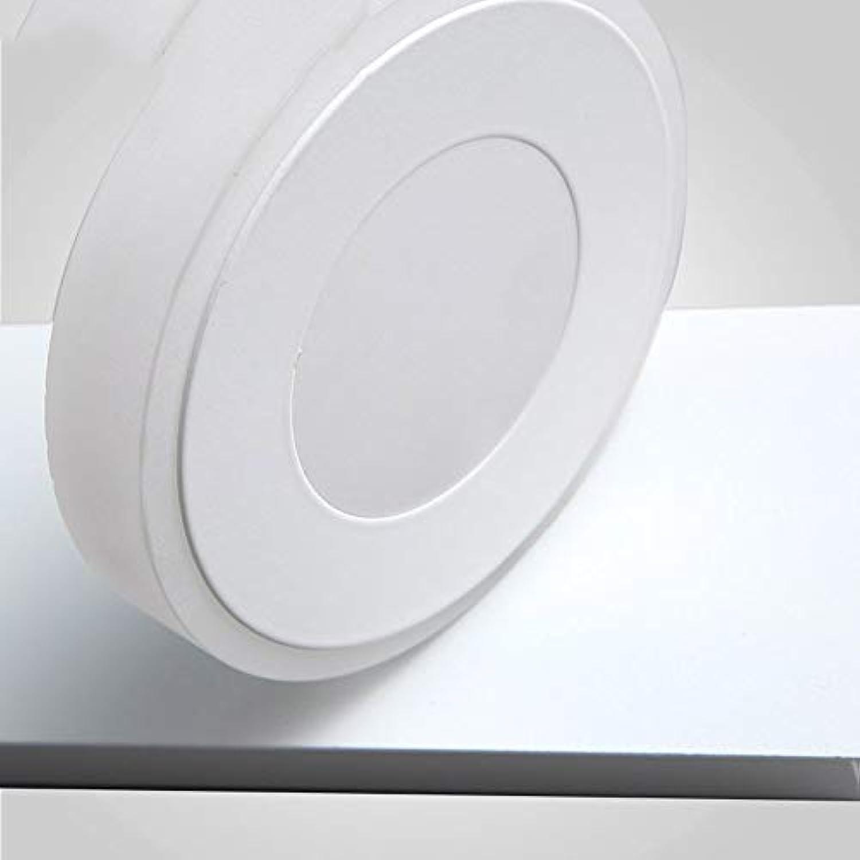 JZX Hauptbadezimmer-Spiegel-Scheinwerfer-justierbares geführtes Spiegel-vorderes Licht Moderne einfache Farben-Acryl-Spiegel-Front beleuchtet Badezimmer-Verfassung Wand-Lampen-Birne, Spiegel-Schein