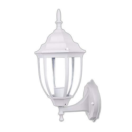 Jandei - Farol De Pared MICENAS Exterior Blanco Aluminio E27 Color Blanco