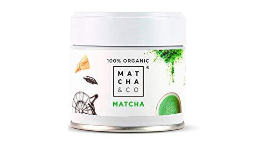 Matcha 100% Ecológico | Té verde en polvo Orgánico de Jap