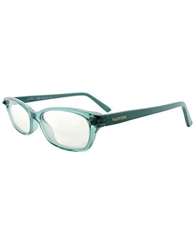 Valentino V2695 Rechteckig Brillengestelle 52, Türkis