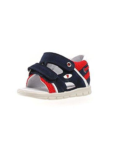Falcotto Chaussures Sandales bébé 0011500599.02.9111 1503 Taille 19 Bleu/Rouge