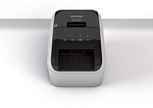 Brother QL-800 - Impresora de Etiquetas (térmica Directa, 300x600 dpi, 176 mm/s, 6.1 cm, 110 Ipm, Centro, Izquierda)
