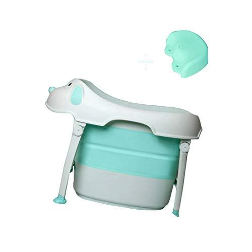 VAIY Bañera De Bebé Taburete De Baño Empotrado, Plegable, Coloca El Maletero del Coche, Baño, Debajo del Gabinete (Color : A)