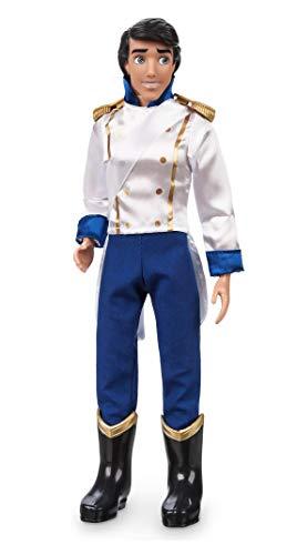 DS Disney Store Muñeca Eric Clásica 30cm Sirenita Ariel Príncipe Original