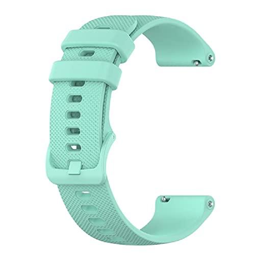 Correas de reloj – Correas de silicona suave de liberación rápida – Elige el color – 22 mm – Bandas de reloj de goma suave sedosa para Venu 2 (0.86 pulgadas) correa de silicona