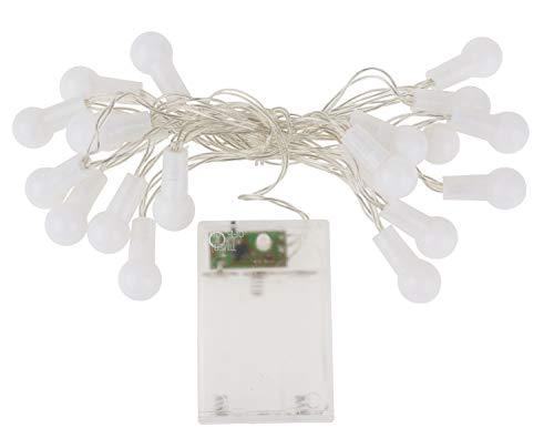 Guirlande lumineuse LED boules VBS, avec minuteur 6/18 h 20 LED