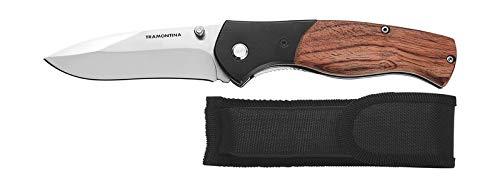Canivete Em Aço Inox 3 Pol Oxidação Negra 26369103 Tramontina