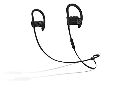 Powerbeats3 Wireless Earphones - Apple W1 Headphone Chip, Class 1 Bluetooth, 12 Hours of Listening Time, Sweat Resistant Earbuds - Black