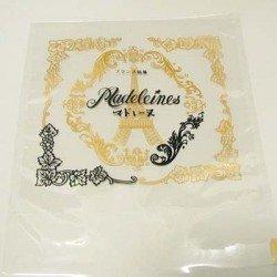 マドレーヌ用印刷袋「エッフェル塔」(135×130+35mm)【メール便でお届け致します】 SEMPREM (300枚)
