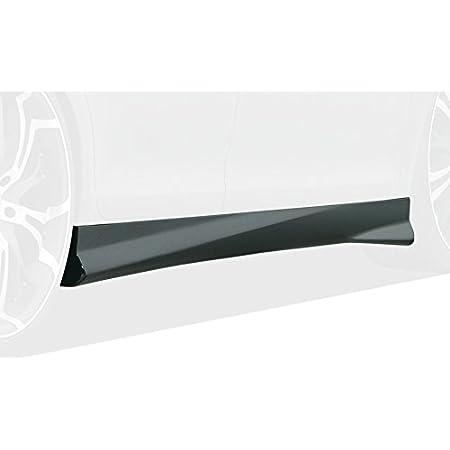 Rdx Racedesign Rdsl500074 Seitenschweller Schwarz Hochglanz Mit Abziehbarer Schutzfolie Auto