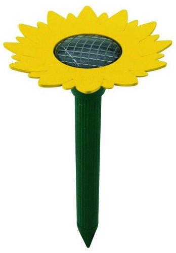 Solar Wühlmaus-Scheuche ''Sunflower''