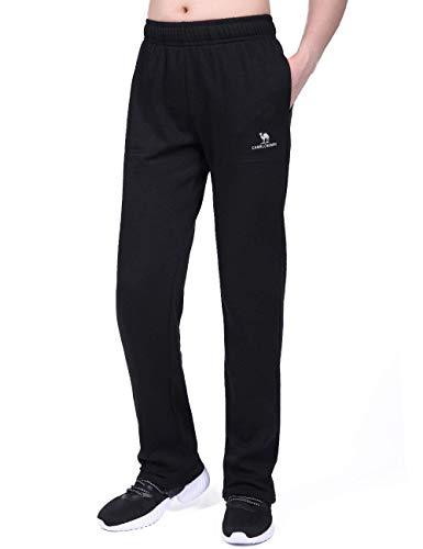 CAMEL CROWN Pantalones Deportivos para Mujeres Ligeros Pantalones de Jogging Largo Pantalón de Algodón Pantalones Casuales Pantalón de Chándal con Bolsillos para Gimnasio Deportes Correr Entrenamiento