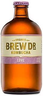 Brew Dr. Kombucha Love, 14 Ounce (Pack of 12)