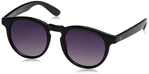 Wolfnoir Hathi Shadowy Deblack Gafas de sol, Negro, 45 Unisex