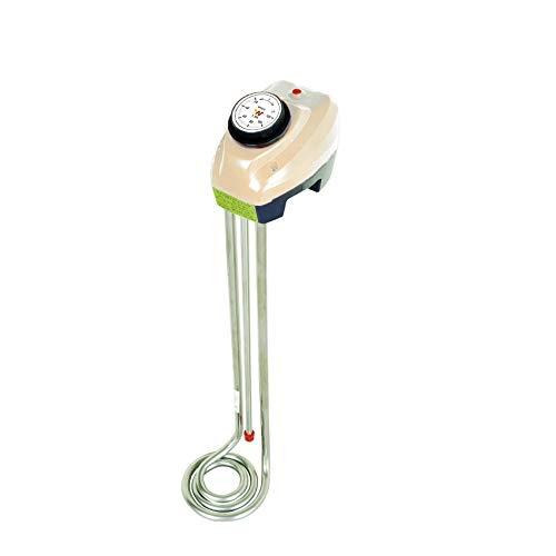 Immersion heater, Länge 40cm 1500 W Wärmer für Wasser, Eimer-Wasser-Tauchrohrheizkörper, einstellbarer Thermostat