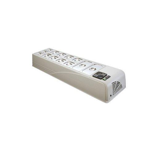 Vetrina frigorifero frigor banco frigo bar cm 158x45x23 +2 +10 RS2249