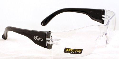 Global Vision cancella infrangibile avvolgente antifog vetri di riciclaggio / uv400 occhiali da sole completo di microfibre libero sacchetto di immagazzinaggio