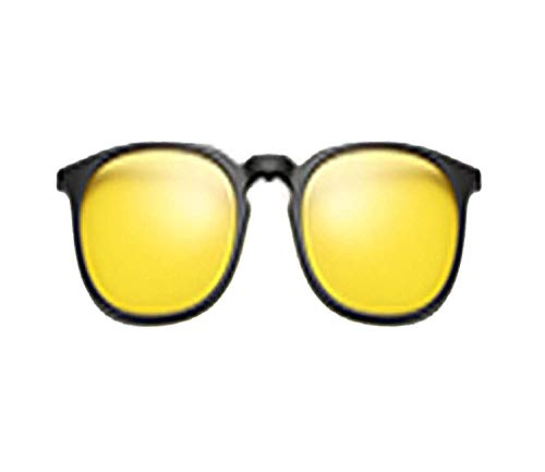 OULN1Y Occhiali da sole 5 In 1 Multi-Clip Ultra-Light Clip On Sunglass Women Round Sunglases Eyewear Sun Glasses
