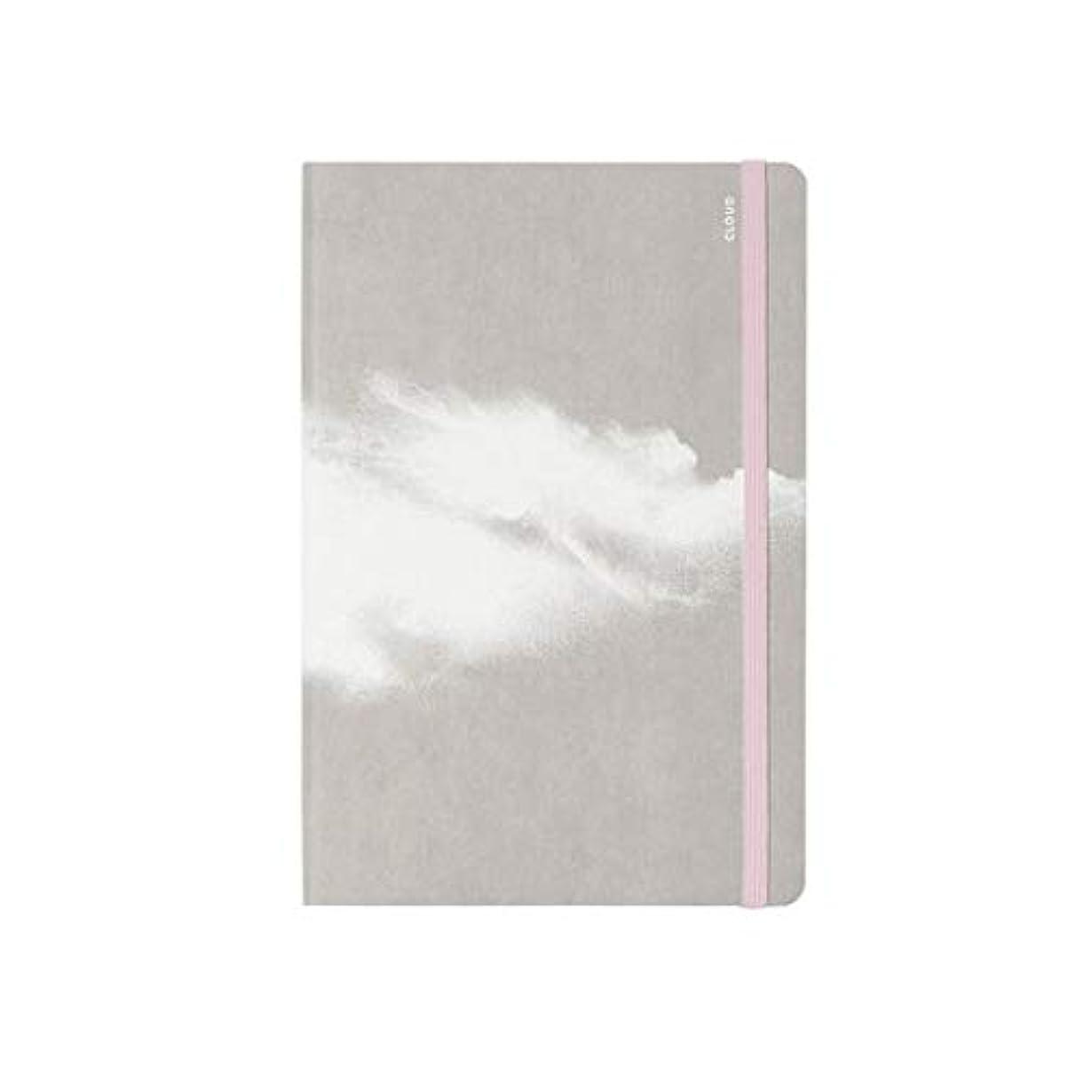 ヌーナ ノートブック CLOUD ピンク