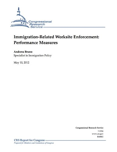 Immigration-Related Worksite Enforcement: Performance Measures (English Edition)