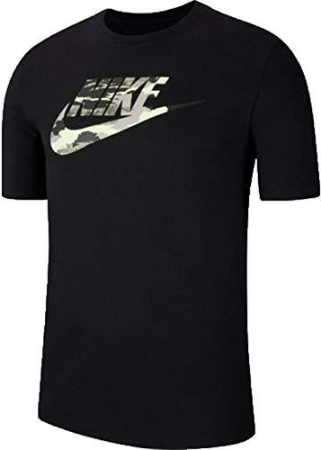 NIKE NSW Trend Spike Camiseta, Negro, S Hombre