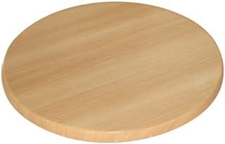 Dessus de table Bolero, rond, en bois de hêtre, 30 x 600 mm