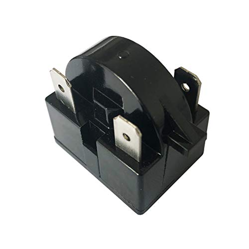 New Replacement QP2-4.7 Start Relay Refrigerator PTC Ohm 3 Pin For Vissani Danby Compressor