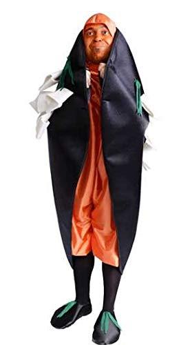 Nines Disfraz de Mejillon colorao - Unisex, nica