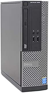 Dell OptiPlex 3020 SFF 4th Gen Core i5-4590 8GB 240GB SSD DVDRW Windows 10 Professional 64-Bit Desktop PC Computer (Renewed)