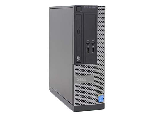 Dell OptiPlex 3020 SFF 4th Gen Core i5-4590 8GB 240GB SSD DVDRW Windows 10 Professional 64-Bit Desktop PC Computer (Renewed)