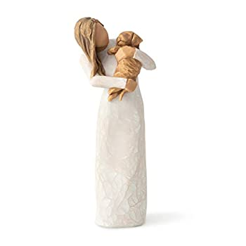 Willow Tree Adorable You  Golden Dog  Sculpted Hand-Painted Figure