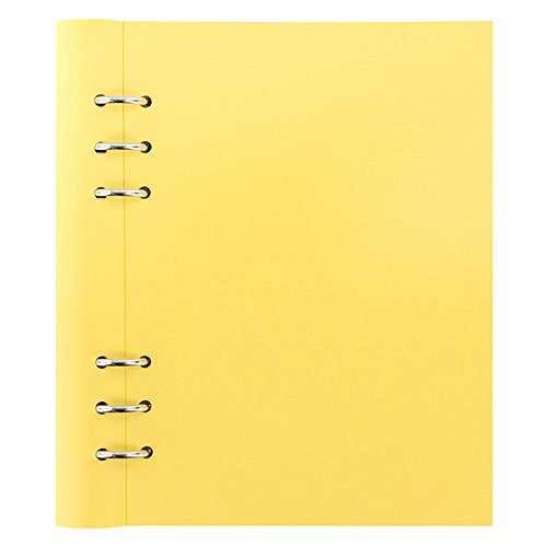 Filofax Clipbook Classic Pastels Notizbuch, A5, Zitronengelb