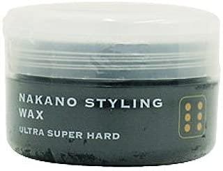 ナカノ スタイリングワックス 6 ウルトラスーパーハード 90g 中野製薬 NAKANO