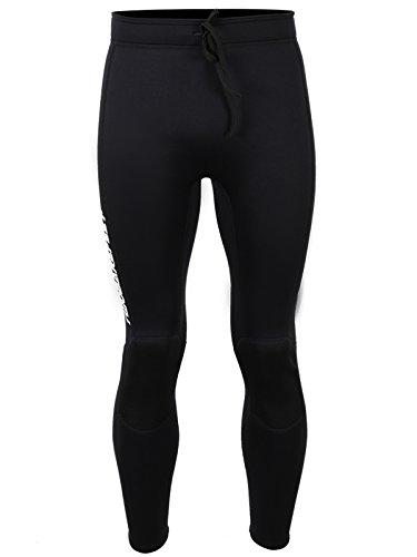 Two Bare Feet Pantalon de Surf Thermique doublé Polaire 3 mm pour Homme – Couche de Base de Surf, m
