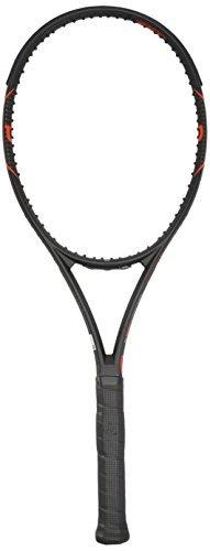Wilson Burn FST 95 Tennis FRM W/O CVR Racquet - Black/Orange/Matte Black/Orange, 3 Grip by