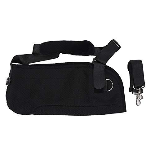 BLLBOO Verstellbare Armschlinge Oberarm-Tragbatterie-Handgelenk-Verstauchungsunterarm-Frakturpflege schwarz