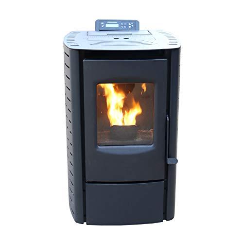 Mr. Heater PS20W-CIW Mini Pellet Stove, WiFi Enabled, Black