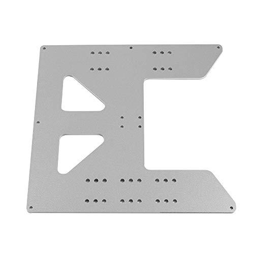 Aibecy Accesorios de impresora 3D Placa base de cama caliente Placa de aluminio anodizado para PRUSA I3 para proveedores de actualización de impresora 3D Anet A8