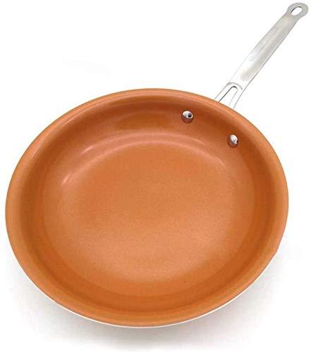 WJMLS Bratpfanne Wok Kochtopf Kochtopf Grill-Ofen Smokeless Bratpfanne Ei, Farbe: 10inch (Color : 10inch)