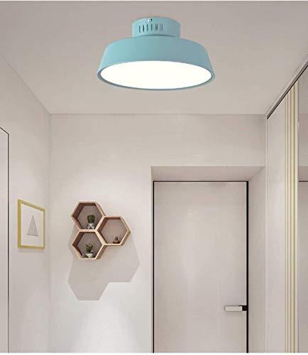 Las luces del techo, caliente nórdica Sala de estar Cuarto de baño moderno del dormitorio del pasillo del pasillo Balcón Restaurante Araña Crocs (Color : Sky Blue)
