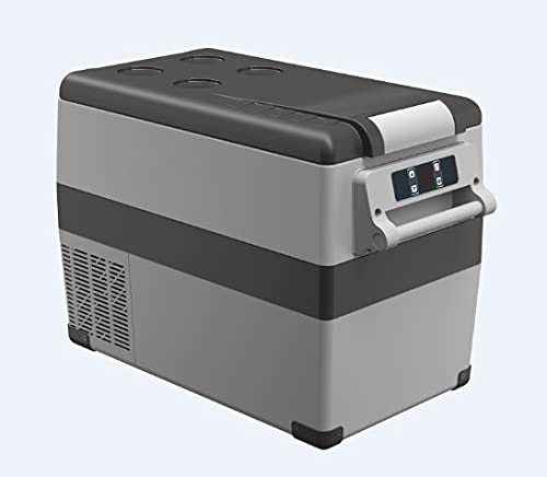 WEI-LUONG Mini Nevera 35/45 / 55Literac / DC12 / 24V Compresor Camping Portic Picnic RV Auto refrigerador Mini Frigorífico Congelador Congelador Caja de Enfriador Travel (Color Name : 45liters)