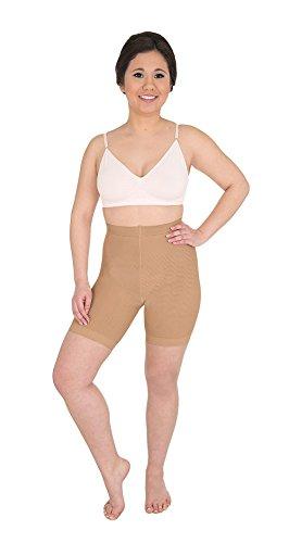 SOLIDEA Argento Wave Corta Pantaloncini Anti-Cellulite, Noisette, 3-ML