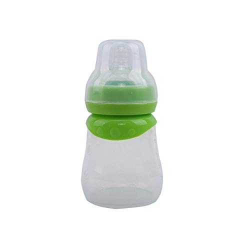 Read About 150ml Baby Silica Portable Feeding Bottle Newborn Kids Care Feeder Fruit Juice Milk Safet...